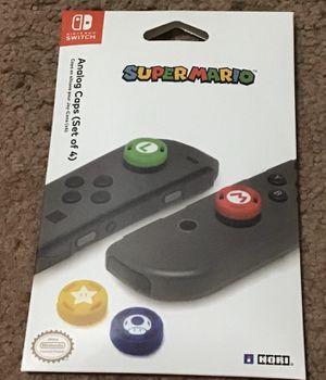 Nintendo Switch Hori Thumb Grips (Mario) for Sale in Falls Church, VA