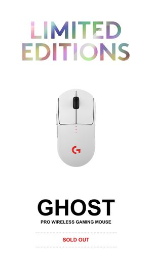 Logitech Ghost Wireless Gaming Mouse for Sale in Oakland, CA