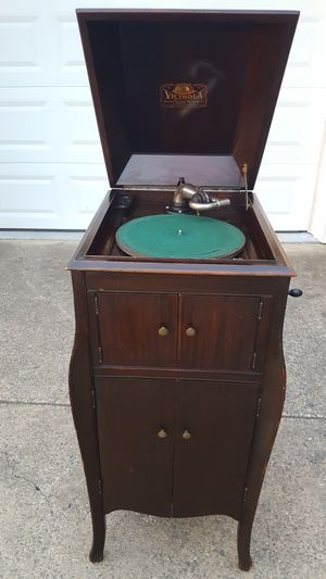 1915 Victrola Phonograph Antique Record Player for Sale in Fairfax, VA