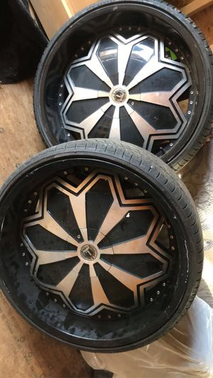 """Rims & tires 24"""" for Sale in Kingsport, TN"""