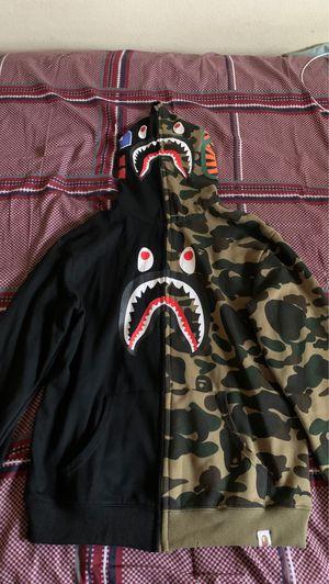 BLACK CAMO BAPE HOODIE for Sale in Fontana, CA