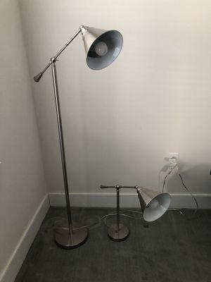 Floor & Reading Lamp for Sale in Shrewsbury, MA