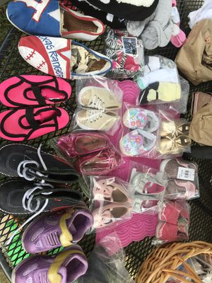 Kids shoes, toys and clothes etc. for Sale in Dallas, TX