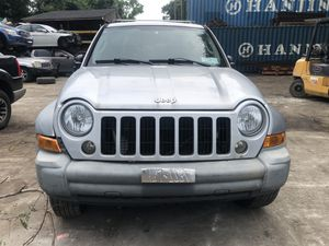 Jeep Liberty 2005 Selling Parts Only Vehicle Not For Sale for Sale in Paterson, NJ