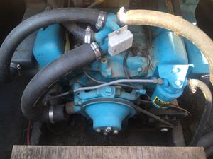 185 hp Chevy v8 OMC INBOARD BOAT MOTOR for Sale in Missoula, MT