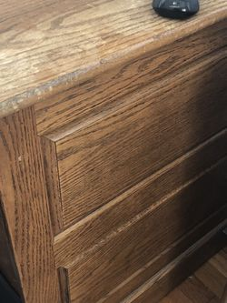 Wooden File Cabinet for Sale in Needham,  MA