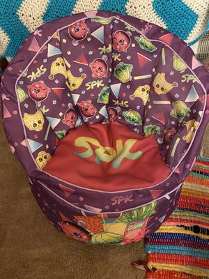 Beanbag chair shopkins for Sale in Danbury, CT