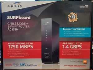 Arris Surfboard Cable Modem & WiFi Router for Sale in Joliet, IL