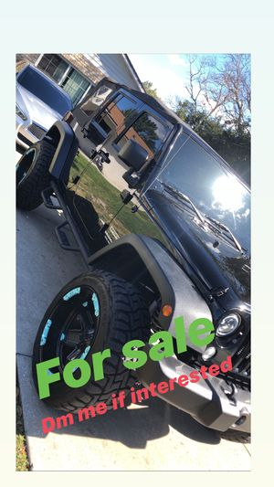 2014 Jeep Wrangler unlimited sport for sale for Sale in Leesburg, FL
