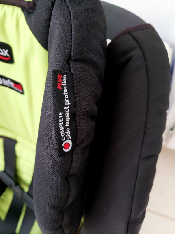 Britax Pioneer harness to booster car seat