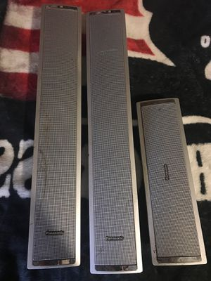 Panasonic surround sound speakers for Sale in Eastman, GA