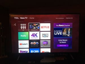 Tcl 49' 4K Roku Tv for Sale in Columbus, OH