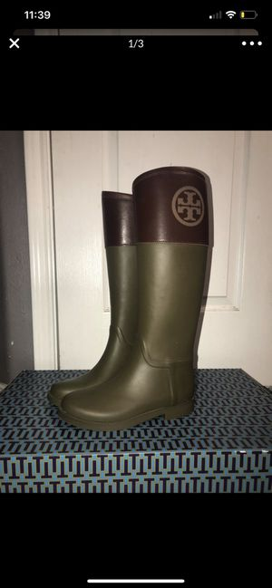 Tory Burch rain boots for Sale in Princeton, TX