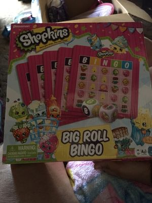 Shopkins Bingo Game Paid $20 new. Used once. Asking $5.00 for Sale in Hayward, CA