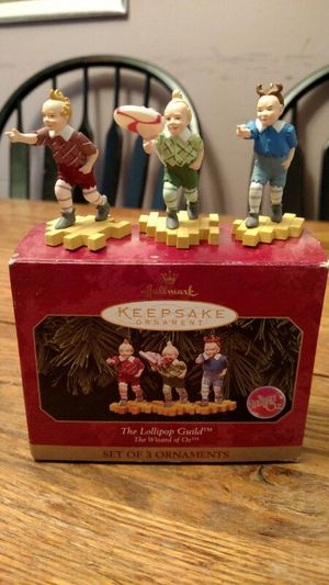 Hallmark Wizard of Oz Lollipop Guild for Sale in Charlottesville, VA