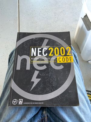 2002 National Electrical Code NEC for Sale in Phelan, CA