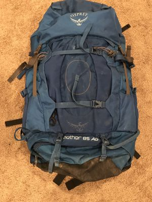 Osprey 85l Hiking Backpack - Used Once for Sale in Naperville, IL