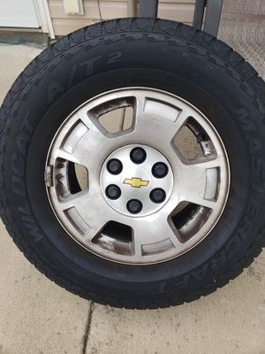 Set of Chevy Tahoe/Suburban wheels for Sale in NORTH PRINCE GEORGE, VA