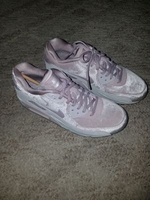Brand new velvet particle rose nike air max 90 size 7 women's for Sale in San Diego, CA
