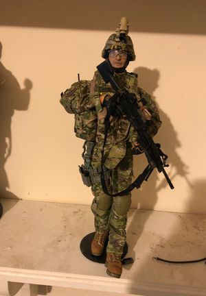 Custom Made Authentic Military Action Figure for Sale in Montgomery, AL