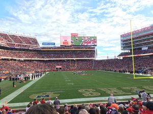 49ers vs cardinals 2 tickets lower res 1 parking for Sale in Manteca, CA