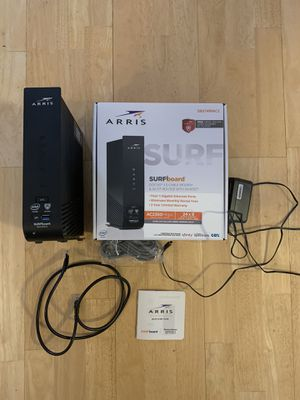 Arris SBG7400AC2 Cable Modem & Router for Sale in Naperville, IL