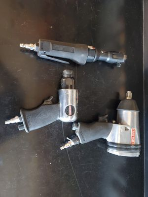 Craftsman pneumatic air tools for Sale in Victorville, CA
