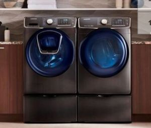 New Samsung AddWash 4.5-cu ft High Efficiency Washer and dryer set for Sale in Knoxville, TN