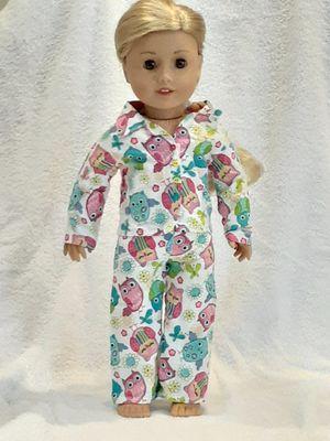 Homemade American girl owl pajamas for Sale in Boca Raton, FL