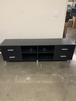 *BRAND NEW* Black & Grey 4 Drawer TV Stand for Sale in Temple City, CA
