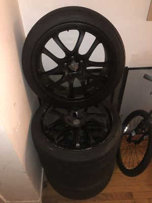 G35 wheels for sale for Sale in Queens, NY