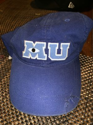 MONSTERS INC UNIVERSITY DISNEY HAT CAP for Sale in City of Industry, CA