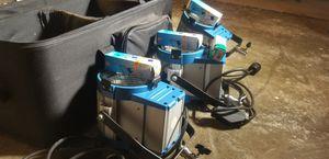 3pcs 650W Fresnal Tungsten Light Kit for Sale in Los Angeles, CA