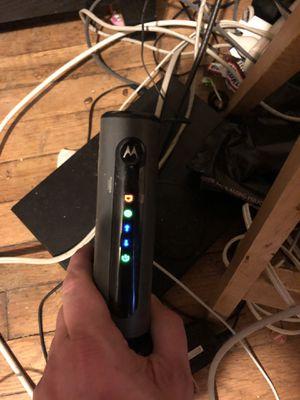 Motorola Modem/router for Sale in Hublersburg, PA
