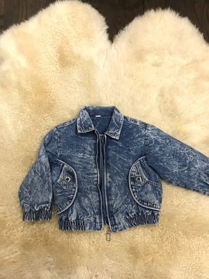 Girls Vintage acid wash jacket size 4 for Sale in Chicago, IL