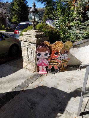 Lol cut outs for Sale in Oak Glen, CA