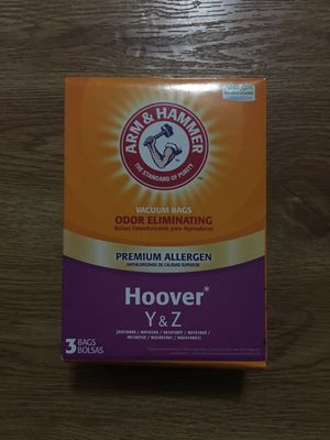 Vacuum Bags for Hoover Y & Z for Sale in Mountain View, CA