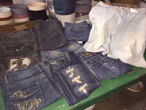 "Men's Designer Jeans 36""x 34"" (Ed Hardy, Levi, Mecca USA, Fusal, Etc.) for Sale in Orlando, FL"