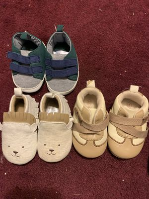 Baby shoes 0-3 for Sale in Riverside, CA