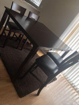 Wooden table set cheap for Sale in Buckeye, AZ