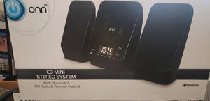 ONN CD MINI STEREO SYSTEM for Sale in Broomfield, CO