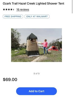 Shower tent for Sale in Del Rey, CA