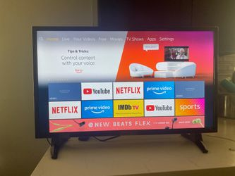 New Insignia Fire TV (without remote control) pick up only for Sale in Los Angeles,  CA