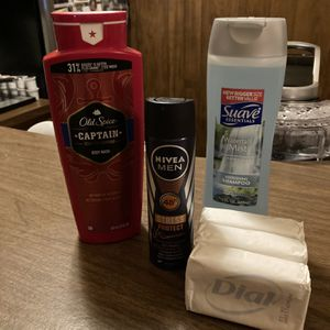 Men's Shower Items (Old Spice, Suave, Nivea, Dial) for Sale in Montclair, CA