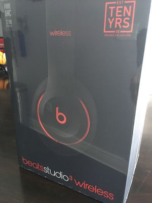 Beats studio 3 wireless headset sealed for Sale in Fresno, CA