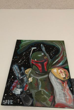 Boba fett artwork for Sale in Lakewood, CO