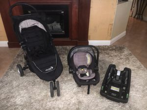 Baby Car Seat And Stroller Set for Sale in North Las Vegas, NV