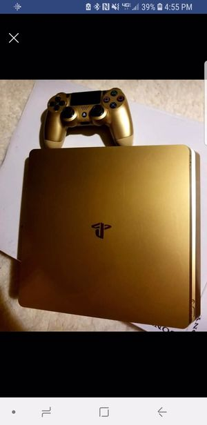 Gold ps4 limited edition for Sale in Lake City, MI