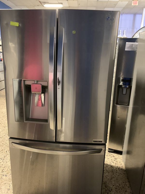36by69 NEW LG FRENCH DOOR FRIDGE STAINLESS STEEL WITH WARRANTY