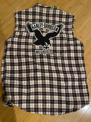 harley-davidson vintage flannel for Sale in Fresno, CA